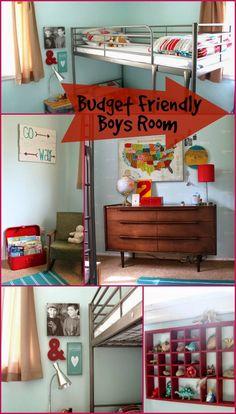 Boys Room on a Budge