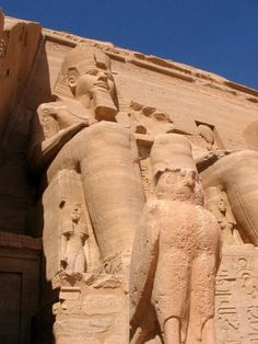 Abu Simbel Temples, Egypt    This was an awesome place. They moved the entire structure because of rising water levels.