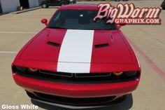2008-17 Challenger Center Hood Stripe