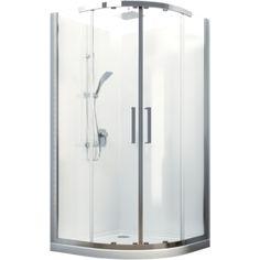 Milano Round Sliding Shower