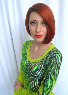 smaragdový had