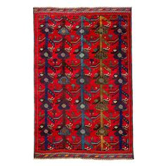 """Baluch Collection Oriental Rug, 6'5"""" x 9'9"""""""