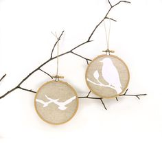 Rustic Christmas decor Bird decoration Party by ClassicByNature