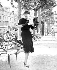 Paris fashions 1960's photo by Kenneth Heilbron