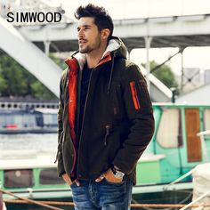 Find More Parkas Information about Simwood Men Parkas 2015 New Arrival Brand Winter Jacket Men Fashion Thick Slim Casual Outdoor Coat High Quality Free Shipping,High Quality coats for men winter,China coat winter Suppliers, Cheap parka jackets for men from SIMWOOD on Aliexpress.com