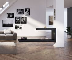 Chimeneas con quemadores de bioetanol Antonio Valencia, Living Room Decor, Flat Screen, Gallery Wall, Dreams, Home Decor, Open Fireplace, Corner Fireplace Layout, Modern Fireplaces