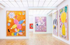 "Berlin – Hilma af Klint: ""A Pioneer of Abstraction"" at Hamburger Bahnhof Through October 2013 Kandinsky, Mondrian, Hilma Af Klint, Textile Pattern Design, Centre Pompidou, Art Moderne, Global Art, Art Club, Art Plastique"