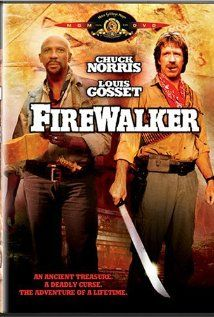 Firewalker (1986) with two adventurers looking for ancient gold. One of my favorite movies as a kid.