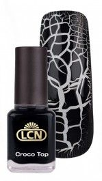 CROCO TOP black leather 8 ml Black Tops, Beauty Products, Black Leather, Cosmetics, Products