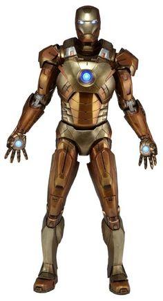 Avengers 1:4 Scale Iron Man Midas Armor Action Figure