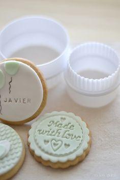 La vida en Verde Mint | Na Lua Dulce: Great idea for small cookies!