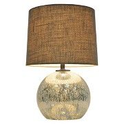 Threshold™ Globe Mercury Glass Table Lamp (Includes CFL Bulb)