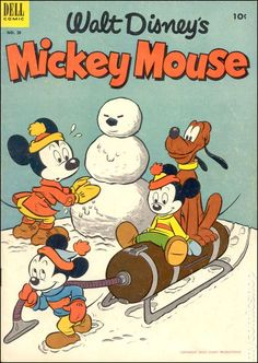MICKEY MOUSE 29, GOLDEN AGE DELL COMICS