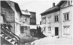 Old wooden houses Rodeløkka, old Oslo pictures