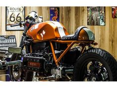 BMW K 100 cafe racer - 3