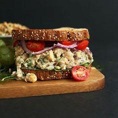 Chickpea Sunflower Sandwich | Minimalist Baker Recipes