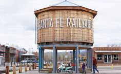 Opened in 2008, the Railyard District of Sante Fe, New Mexico, is now home to 11 contemporary galleries, a 10-acre park, and a farmers market. (From: 50 Cities Every American Should See!)