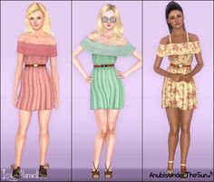 Anubis Under The Sun ♪: Love Paradise ~ Summer Dress for Teen-to-Adult