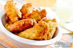 Receita de Bolinho de arroz temperado em receitas de salgados, veja essa e outras receitas aqui!