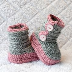 Baby Girl Boots Girl Shoes Girl Winter Shoes by DaisyNeedleWorks