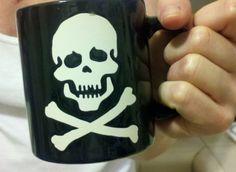 nice mug I got for my girl. sadly, broken two days later during dish washing. damn.