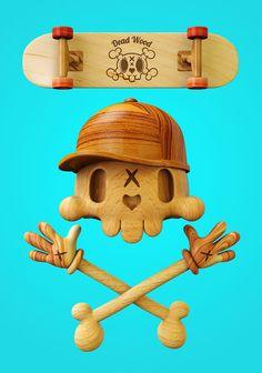 SkullToons 3D par Teodoru Badiu