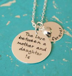 Image of  Mother & Daughter Jewelry, Personalized Jewelry, Mommy Necklace