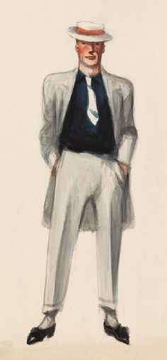 Edward Hopper - Standing Man with Hands in Pockets
