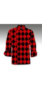 Red & Black Chef Coat www.loudmouthgolf.com Made to Order Chef Coats! Mens Golf, Red Black, Chef Coats, Chef Jackets, Men Sweater, Turtle Neck, Pullover, Men's Apparel, Female