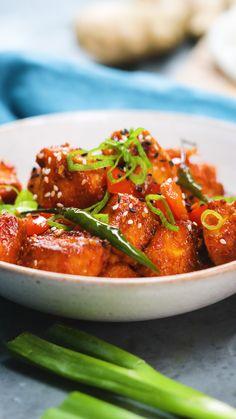 Chilli Recipes, Veg Recipes, Indian Food Recipes, Vegetarian Recipes, Cooking Recipes, Indian Snacks, Snacks Recipes, Homemade Paneer Recipe, Vegetarian