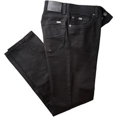 Brax Cadiz Straight Leg Jeans Jeans (4,240 MXN) ❤ liked on Polyvore featuring jeans, straight leg jeans, brax, brax jeans and faded jeans