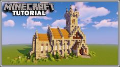minecraft church medieval build tutorial buildings plans designs