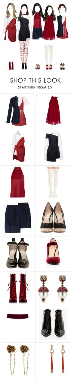 """《EXCITING》Promise MYSELF"" by promise-official ❤ liked on Polyvore featuring Jacquemus, Giamba, PALLAS, Nicholas Kirkwood, Christopher Kane, Barneys New York, D&G, Gucci, Jeffrey Campbell and Marc Jacobs"