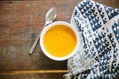 carrot soup via bleubird