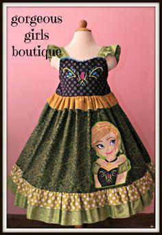Disney Dresses, Disney Outfits, Girls Dresses, Run Disney, Disney Bound, Toddler Fashion, Kids Fashion, Frozen Dress Up, Everyday Princess