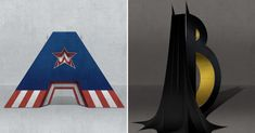 Superhero Themed Alphabets Are Probably The Coolest Things You See Today