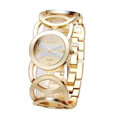 BAOSAILI Brand Magic New Fashion Lady Gold Watches Women Full Stainless Steel Quartz Wristwatches Relojes Mujer Relogio bs-001 #Sailor Halloween Costumes Gold Watches Women, Watches For Men, Ladies Watches, Casual Watches, Stainless Steel Back, Gold Color Dresses, Sierra Leone, Cool Watches, Women's Watches