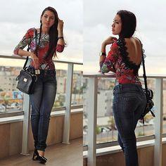 More looks by Suene Fernandes: http://lb.nu/suene  #casual #chic #street #pants #jeans