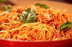Red Sauce and Spaghetti from CookingChannelTV.com