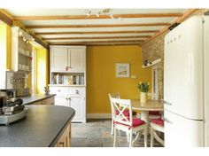 colours in kitchen - bright