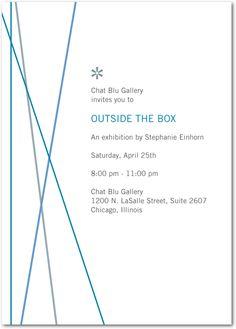 Corporate invite design pinterest creative portfolio straight linesluxe turquoisecorporate event invitations stopboris Choice Image