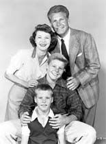 "The Adventures of Ozzie and Harriet (1952–1966) - The show adapted from radio starred the real life family of Ozzie Nelson, his wife Harriet, their two boys David and Ricky with Don Defore as their neighbor Thorny. The show featured Ozzie as the ""Lucy"" of the show and launched the career of Fifties teen singing idol Ricky Nelson. Ozzie and Harriet."