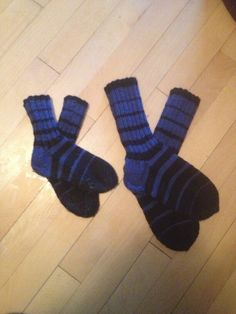 Wool socks for daddy and littlebro