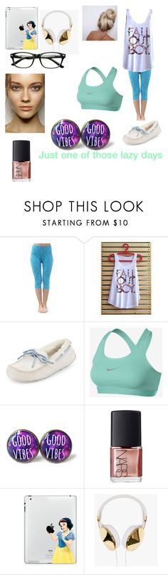 """Untitled #57"" by i-found-wonderland ❤ liked on Polyvore featuring Electric Yoga, UGG Australia, NIKE, NARS Cosmetics and Frends"