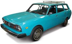 1974 Subaru DL Station Wagon - Known as the Leone in other parts of the world, the Subaru L series consisted of three models in the United States in 1974 - a sedan, station wagon, and coupe.