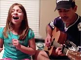 Father & Daughter Perform an Amazing Adele Duet - Such a Sweet Pair!
