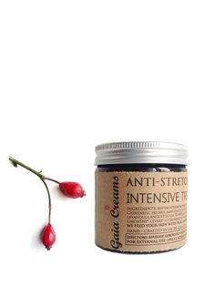ANTI-STRETCH MARKS INTENSIVE TREATMENT 60ml by Gaia Creams // 100% Skinfood // 100% Organic Vegan and Ethical Skincare // Always Freshly Crafted to Order #nopalmoil #toxinfree #nonsensefree