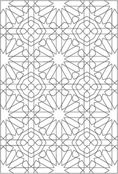 Welcome to Dover Publications  Creative Haven Alhambra Designs Coloring Book