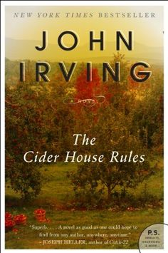 The Cider House Rules by John Irving, http://www.amazon.com/dp/B008K556BK/ref=cm_sw_r_pi_dp_d8bgvb16QRT58