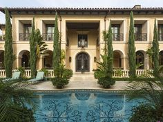 Magnificent Mediterranean Estate Dream homes, luxury mansions, celebrity homes, ultimate kitchen and bathroom ideas on your computer, IOS and Android